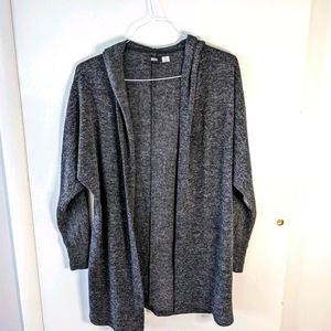 BDG Hooded Duster Cardigan size small